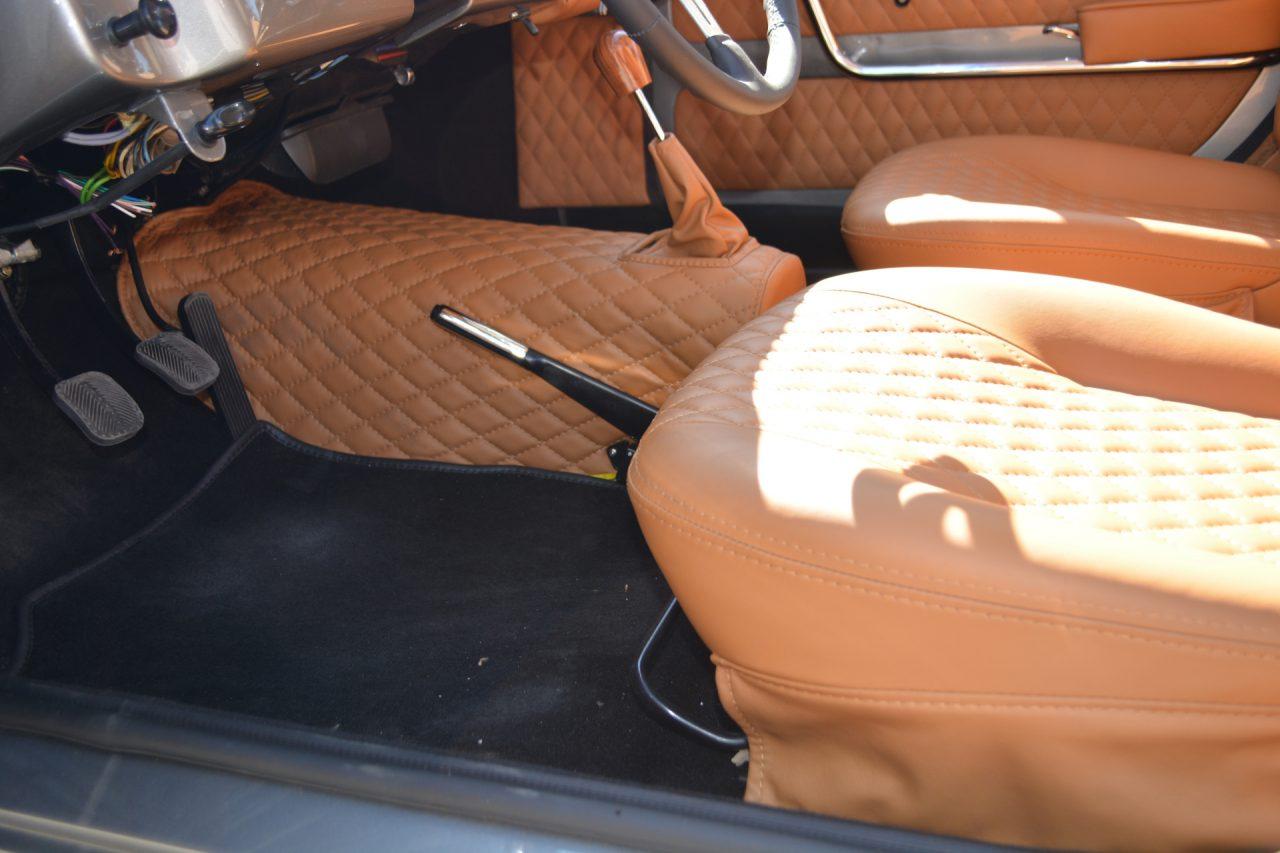 Fiat 1500 oldtimer - wnętrze Tapicerstwo Bielsko Biała